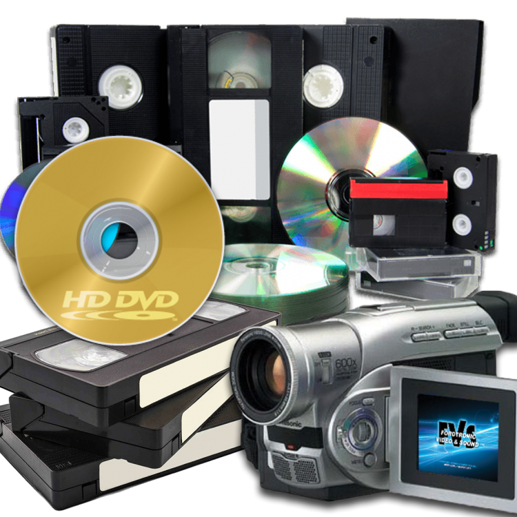Прехвърляне от VHS на DVD